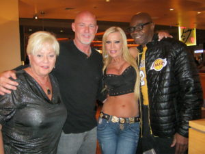 Four adult legends (l-r) Seka, Mark Davis, Amber Lynn and Sean Michaels