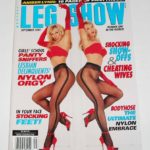 Amber on the cover of Leg Show