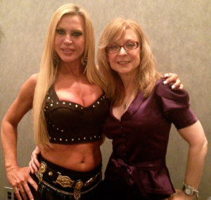 Amber with a treasured lady of XXX Nina Hartley (her ass is unbelievable)