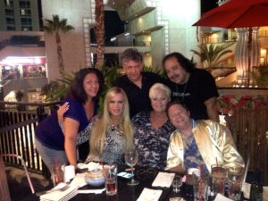 Aftershow dinner with Amber, Seka, Ronnie, Scotty Schwartz and friends