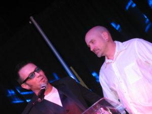 Axel with director Eli Cross