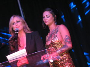 Cohosts Bonnie Rotten and Julia Ann