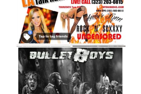 "Rock'N'SeXXXyU welcomes the ""Bullet..."
